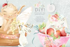 Baby Fairies Clipart Collection Product Image 3