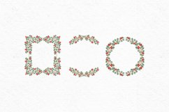 Hand-drawn Christmas clipart| Christmas wreath clipart Product Image 2