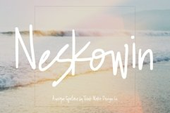Neskowin Font with Fun Ligatures! Product Image 1