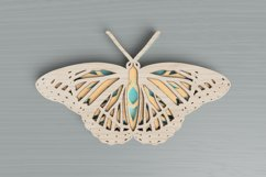 Insect laser cut file - Butterfly Mandala Product Image 2