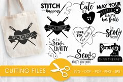 Sewing svg bundle cutting files svg, dxf, pdf, eps, png Product Image 1