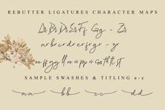 Rebutter // Fashionable Handwritten Font - WEB FONT Product Image 8
