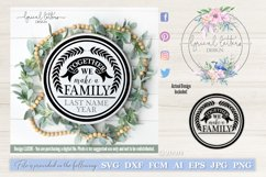 Together We Make a Family SVG Cut File LL039E Product Image 1