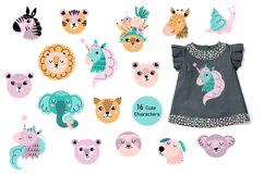 Nursery Cute Animals Summer Mood Big Bundle Product Image 4
