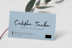 Arthur Keith - Signature Style Font Product Image 4