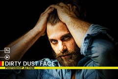 Dirty Dust Face Photoshop Actions Product Image 4