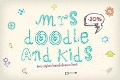 Mrs Doodle Fonts Product Image 1