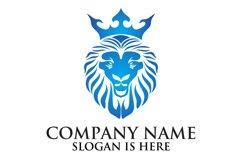 Lion face logo emblem template for business design Product Image 2