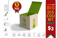 Package Box Mockups Product Image 4