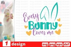 Easter Bunny SVG Cut File | Easter cricut | Easter eggs Product Image 1