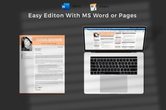 Modern CV with picture, Cover Letter and References Page Product Image 6