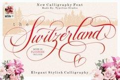 Switzerland Elegant Stylish Calligraphy Script Product Image 1