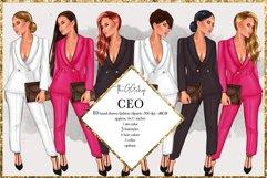 Fashion Girlboss Clipart Product Image 1