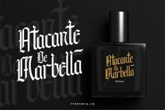 Andalusia - The Blackletter Typeface Product Image 4