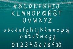 Aqua Beach - Hand Drawn Grunge Font Product Image 2