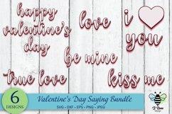 Valentine's Day Saying SVG Bundle | Retro SVG Sayings Product Image 1