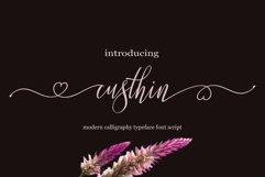 Custhin Script Product Image 1