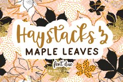 Autumn Font Bundle - 4 Hand Lettered Fall Fonts Product Image 6