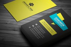 Stylish Modern Business Card Template Design Product Image 1