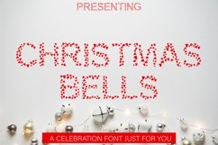 Christmas Bells Font - A Fun & Cute Christmas Font Product Image 1