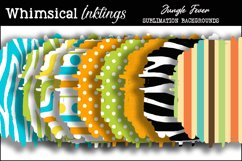 Jungle Fever Sublimation Backgrounds Pack Product Image 1
