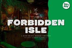 Forbidden Isle Modern Tiki Font Product Image 1