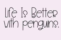 Penguin Farts - A Fun Handwritten Font Product Image 4