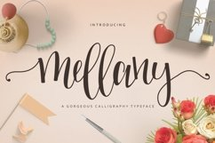 Web Font Mellany Typeface Product Image 1