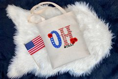 State abbreviation. USA sublimation. Ohio Product Image 3