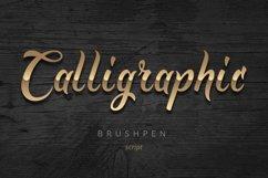 Golden Brush font Product Image 3