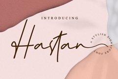 Hastan Signature // Fashionable Handwritten Font - WEB FONT Product Image 1
