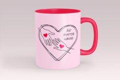 Long distance love svg, Valentines svg Product Image 4