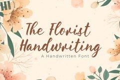 The Florist Handwriting - A Handwritten Font Product Image 1
