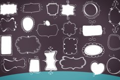 cute doodle clip art pack white/colored  Product Image 2