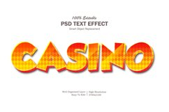 Casino Text Effect Product Image 1