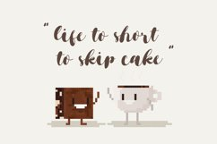 Brownies Sugar - Sweet Bouncy Font Product Image 5
