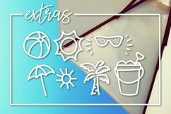 Sunny Beach a Handwritten Typeface Product Image 3