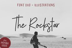The Rockstar Font Duo Product Image 1