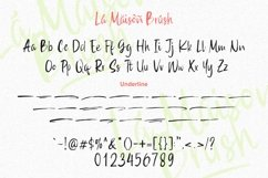 Web Font - La Maison Brush Product Image 6