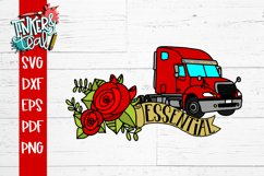 Essential Worker Truck Driver SVG Product Image 3