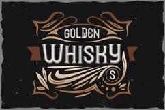 Golden Whisky typeface Product Image 1