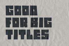 Dark Stone - Extra Bold Font Product Image 2