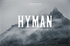 Hyman Rounded Serif Font Family Product Image 1