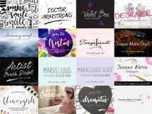 Joanne Marie 60 Font Bundle Product Image 2