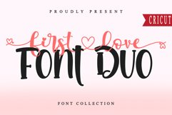 First Love Font Duo Product Image 1