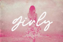 Girly Script Font Product Image 1