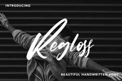 Regloss - Beautiful Handwritten Font Product Image 1