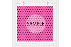 Pink and Black Digital Paper - Bohemian Product Image 6