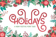 Holidays Font Duo Product Image 1