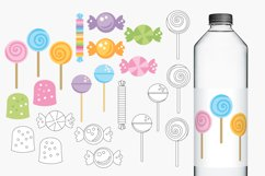 Lollipops and sweets illustrations Product Image 2